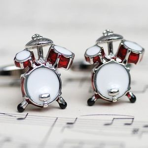 Personalised Drum Kit Cufflinks - cufflinks