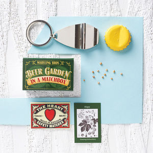 Grow Your Own Beer Garden In A Matchbox - stocking fillers