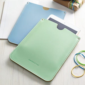 Personalised Leather Sleeve For iPad - gifts for her
