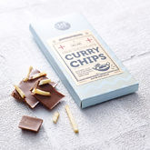 Curry And Chips Milk Chocolate Bar - food & drink