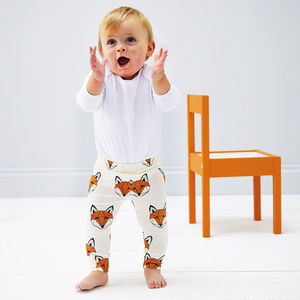 Just Call Me Fox Leggings - gifts for babies
