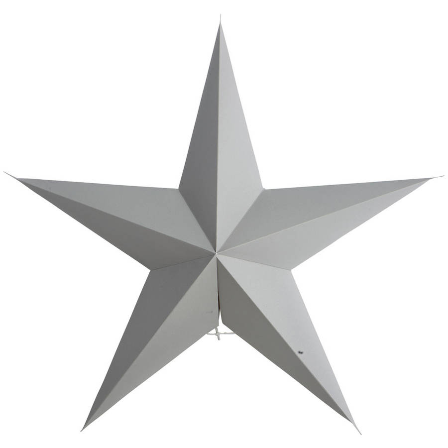 large paper star decoration by idyll home notonthehighstreet.com