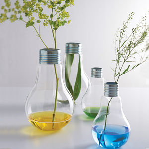 Lightbulb Vase - stocking fillers