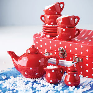 Dotty Tea Set - for over 5's