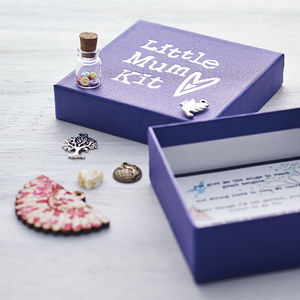 Personalised 'Little Mum Kit' - card alternatives