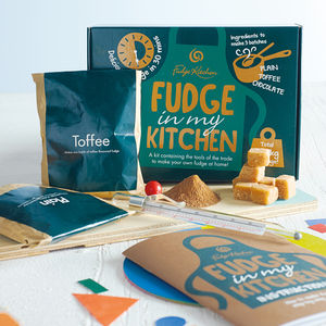 Fudge Making Kit - summer activities