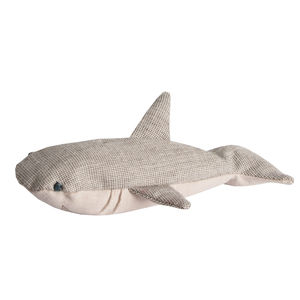 Soft Shark Baby Rattle