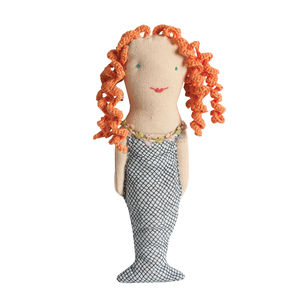 Mermaid Baby Rattle - soft toys & dolls