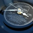 Small Vinyl Record Clock