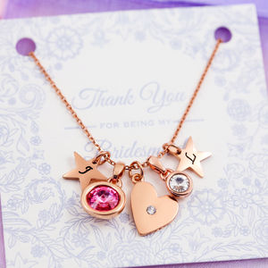Design Your Own Heart Necklace - 18th birthday gifts