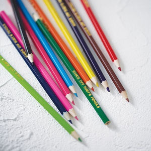 Personalised Colouring Pencils - personalised