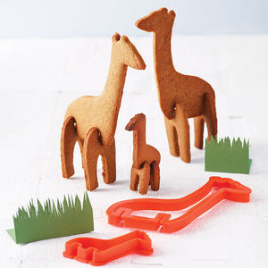 Bake Your Own 3D Safari Animal - stocking fillers