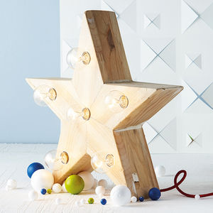 Mini Lena Star Lamp - children's room