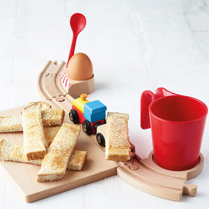 Railway Breakfast Set - egg cups & cosies