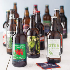 Case Of 12 Best Of British Beers - food & drink