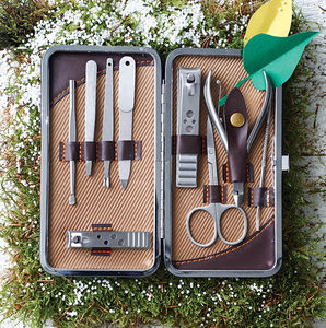 Personalised Gentleman's Manicure Set - gifts for him