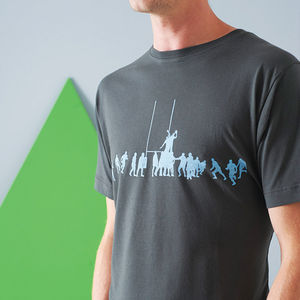 Rugby Lineout T Shirt - gifts for him