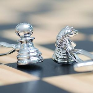 Chess Piece Cufflinks