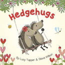 'Hedgehugs' Children's Story Book - front cover showing Horace & Hattie on a swing