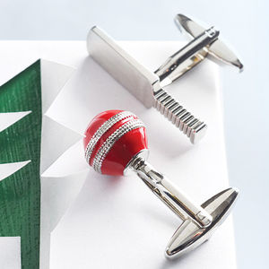 Cricket Bat And Ball Cufflinks - shop by occasion
