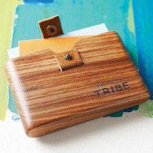 Zebrawood Wallet - wallets & money clips