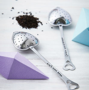 Personalised Heart Shape Tea Infuser - teapots