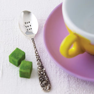 Personalised Silver Plated Teaspoon - for friends