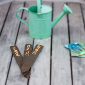 Wooden Vegetable And Plant Markers - tools & equipment