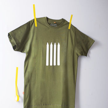 Four Candles T Shirt