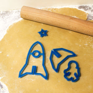 Bake Your Own 3D Space Ships - kitchen accessories