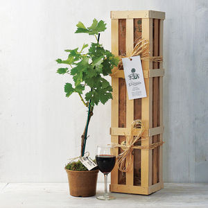 Grapevine Gift Crate - wedding gifts