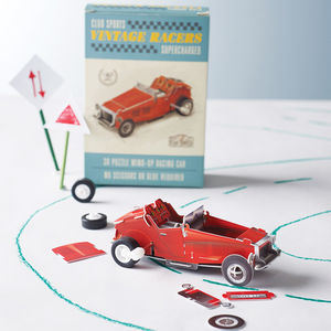 Make Your Own Wind Up Car Kit - gifts for him