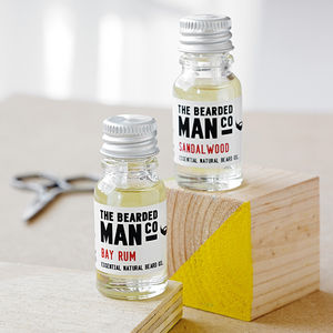 Set Of Two Beard Oils - gifts for grandparents
