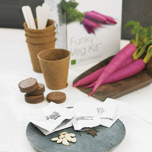 Funky Veg Kit and Psychedelic Salad Kit - gifts for grandmothers