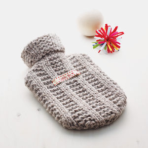 Personalised Mini Hot Water Bottle And Cover - shop the christmas catalogue