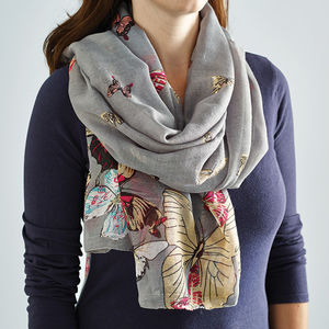 Butterfly Scarf - stocking fillers