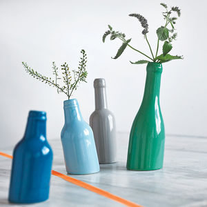 Not So Straight Bottle Vase - spring home updates