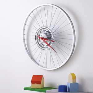 Bike Sprocket Wheel Clock - dining room