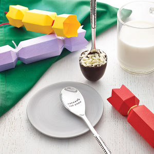 Personalised Hidden Message Chocolate Spoon - novelty chocolates