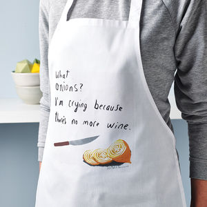 Emotional Cooking Apron - aspiring chef
