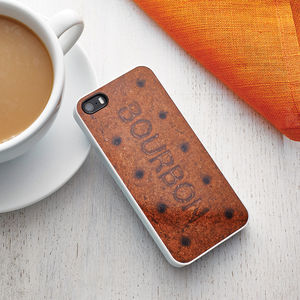 Bourbon Biscuit Case For iPhone - women's accessories