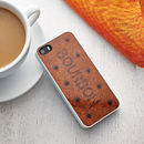 Bourbon Biscuit Case For iPhone
