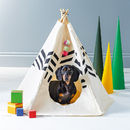 Striped Pet Tipi