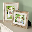 Classic Silver Picture Frame