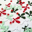 Holly Table Confetti