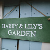 Personalised Garden Sign - garden