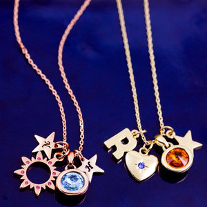 Ultimate Design Your Own Birthstone Necklace - jewellery sale