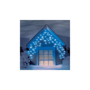 Snowtime 240 LED Blue Multi Function Icicle Lights
