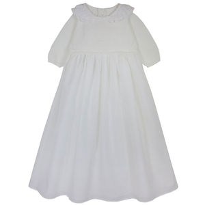 Cotton And Cashmere Classic Christening Gown - christeningwear