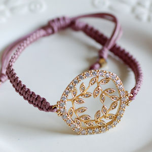 Secret Garden Friendship Bracelet - women's jewellery